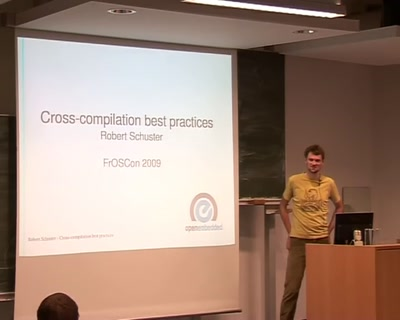 Understanding and fixing cross-compilation requirements