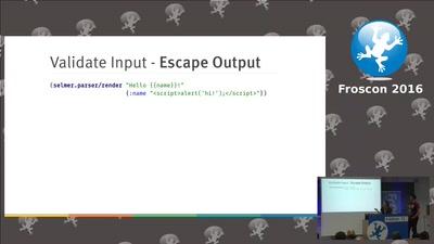 Sichere Webanwendungen mit Clojure