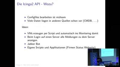 Icinga2 automatisiert