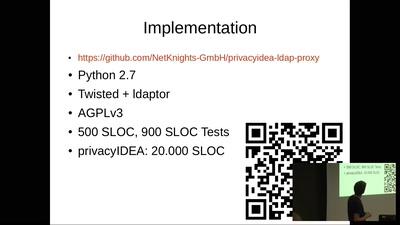 Zwei-Faktor-Authentifizierung für LDAP