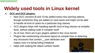 What's up in the land of the Linux kernel security?