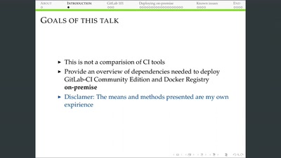 GitLab-CI und Docker Registry