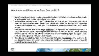 Wissenschaft & Open Source - It's Complicated