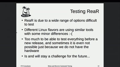 Relax-and-Recover Automated Testing
