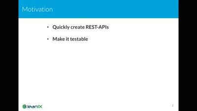 Einfache REST-APIs mit Dropwizard und Swagger