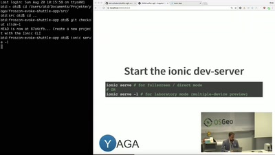 Angular 2 Geo-Apps mit YAGA