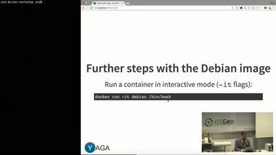 Micro-Service Geo Daten-Infrastrukturen mit Docker