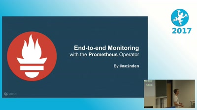 End-to-end monitoring with the Prometheus Operator
