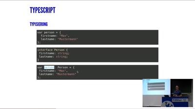 TypeScript - Endlich sauberer Code im Frontend