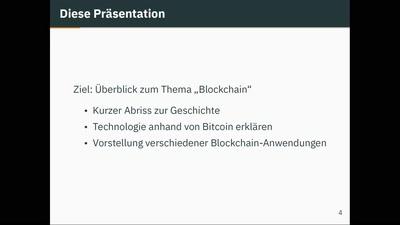 Beyond Bitcoin - Blockchain Anwendungen in der Praxis