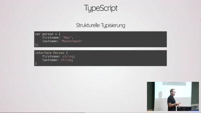 Deep Dive TypeScript und ein Ausblick in die Zukunft