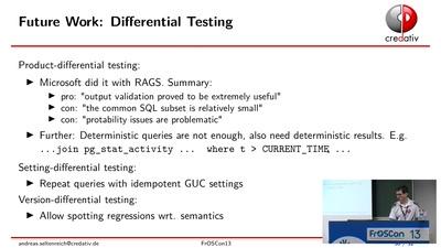 Fuzz testing von SQL-Datenbanksystemen