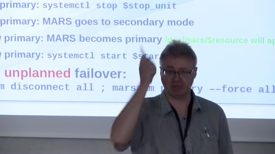 Easy Geo-redundant Failover with MARS and systemd