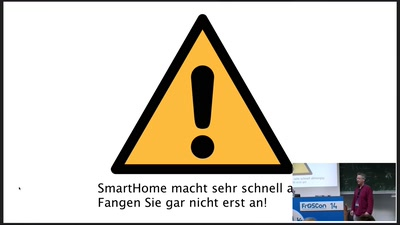 Was ist dieses smart in SmartHome?