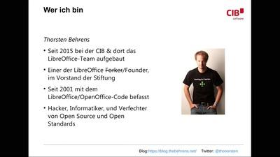 ODF, PDF & LibreOffice - Workflows fürs digitalisierte Büro