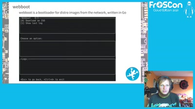 webboot - The LinuxBoot way of multi distro ISO booting