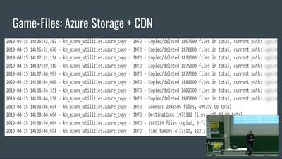 Server streicheln in der Cloud -- Skalieren einer Machine-Learning-Anwendung