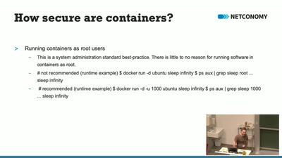 Container - Alles sicher oder was?