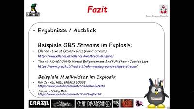 Streaming von Musik-Konzerten mit OBS Studio