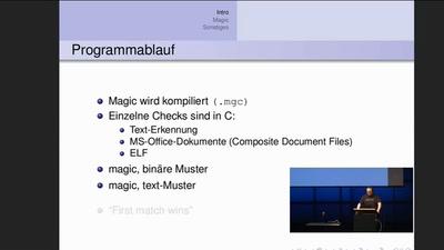 Identifizierung von Dateien mit file/libmagic