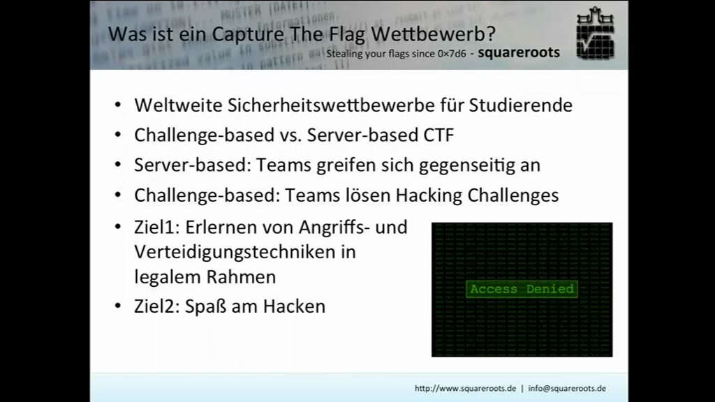 media.ccc.de - Capture the Flag