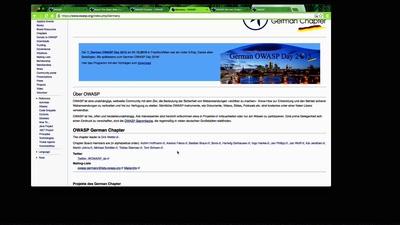 OWASP - Projekte und Mitmachen!