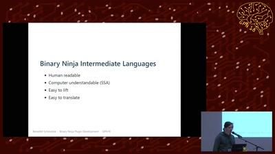 Binary Ninja plugin development