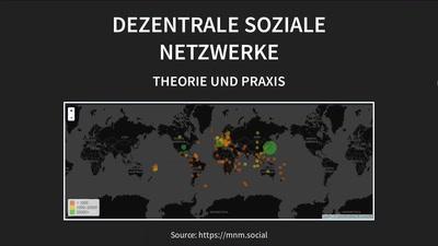Dezentrale soziale Netzwerke – Theorie und Praxis
