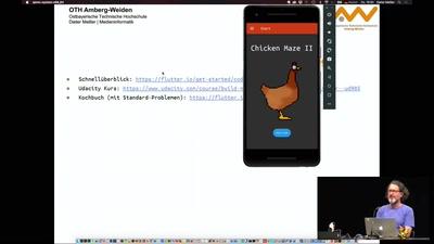 Moderne App-Programmierung mit Flutter und Dart