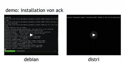 Linux package manager sind zu langsam!