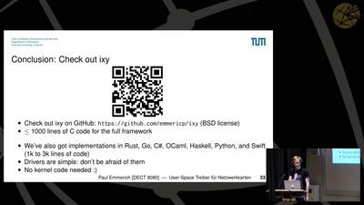 User-Space Treiber für Netzwerkkarten