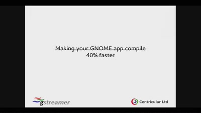 Making your GNOME app compile 2.4x faster
