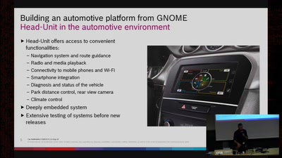 Building an automotive platform from GNOME