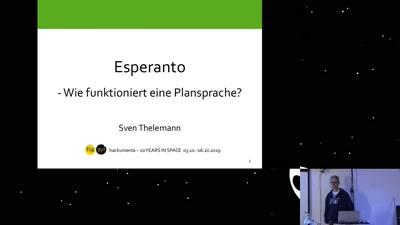 Esperanto: Wie funktioniert eine Plansprache?