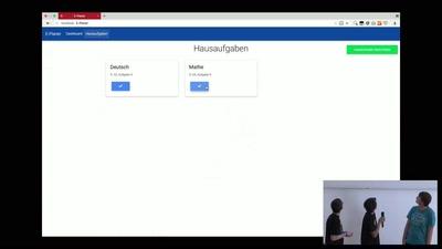 Jugend hackt Köln 2017 Abschlusspräsentation
