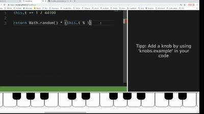 Lightning Talk: Musik machen mit Code. Livecoding für Anfänger