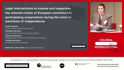 Legal interventions against (post­)colonial crimes committed by European states