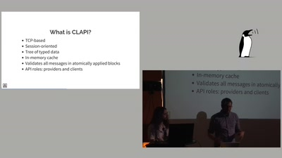 Distributed time-centric APIs with CLAPI