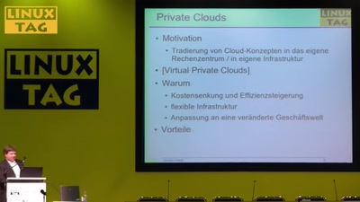Management von Private Clouds mit Open-Source Software