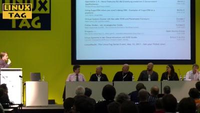 Podiumsdiskussion: Was Unternehmensaufkäufe für Open Source bedeuten