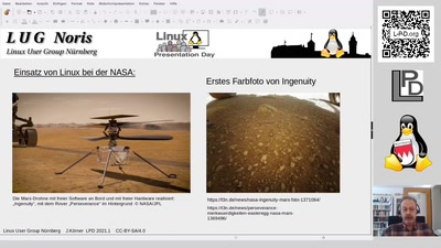 Video and QnA / Kanal LUG-Nürnberg : Warum Freie Software und Linux verwenden?