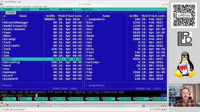 Video and QnA / Kanal LUG-Nürnberg : Linux Dateisystem für Einsteiger