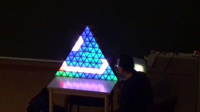 Stackenlichten: Pixelschubsen mit LEDs