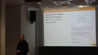 Einführung in die Statistik-Software R