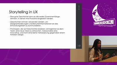 Lightning Talk: Storytelling: Master-Key zur besserer UX