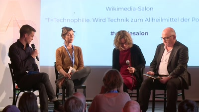 Wikimedia Salon: T=Technophilie. Wird Technik zum Allheilmittel der Politik?