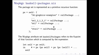 Inside of the Nixpkgs Haskell Infrastructure