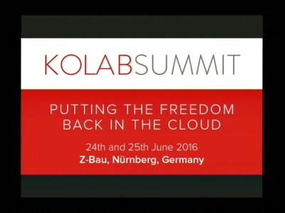 Kolab Summit 2.0 - Closing Talk
