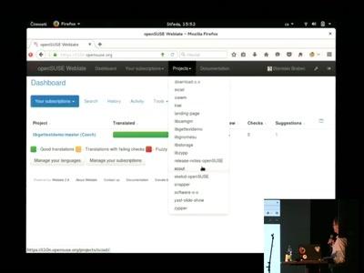 openSUSE Weblate Translation Tool