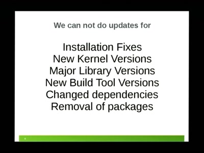 openSUSE Maintenance